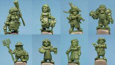 Halfling Adventurers Miniatures by Stonehaven Miniatures — Kickstarter