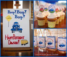 Little Blue Truck Birthday