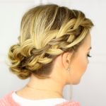 waterfall french and fishtail braid updo ft 150x150 Fishtail Braids