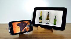 Maak in een handomdraai een gratis standaard voor je smartphone of tablet - Freshgadgets.nl
