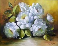 pinturas de rosas - Pesquisa Google