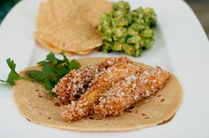 Recipe: Panko-Crusted Fish Tacos with Lemony, Creamy Coleslaw Serves 4  You'll need:  For the slaw: 1/2 head of cabbage, sliced  2 carrots, ...