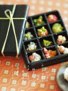 miniature*  和菓子 (京菓子)- petipetit