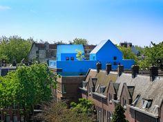 Blue House in Didden Village Rotterdam