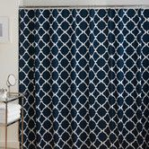 Found it at Wayfair - Jill Rosenwald Home Hampton Links Cotton Shower Curtain $39.99