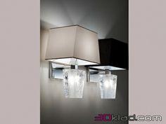3d модель настенный светильник D69 D03 01 Fabbian