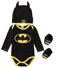 Baby Batman Suit Romper  Soft and Comfortable Baby & Toddler Clothing!