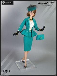 Tenue Outfit Accessoires Pour Barbie Silkstone Vintage Fashion Royalty 1167 | eBay
