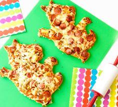 Muumimamman Nakkipizzat - miksi pizzan pitäisi aina olla pyöreä?