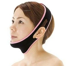 HENG SONG V Line Facial Mask Chin Neck Belt Sheet Anti Aging Face Lift Up ** Click image to review more details. (Note:Amazon affiliate link)