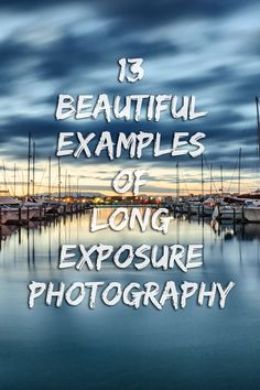 13 examples of long exposure photography to inspire you, give you ideas for creative photos in nature or including landscape. Landscape Photography Tips, Exposure Photography, Photography Lessons, Sunset Photography, Photography Camera, Photoshop Photography, Outdoor Photography, Photography Business, Photography Tutorials
