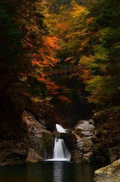Mitarai Gorge, Nara, Japan