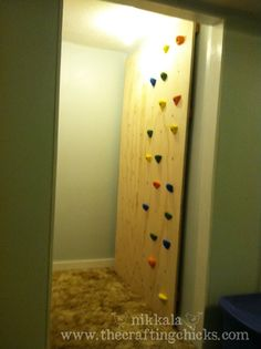 Although neither of our boys asked for a climbing wall for Christmas, Santa surprised them with one Christmas morning! The idea of an indoor climbing wall came about when I was trying to figure out what to get our soon to be 3 year old for his birthday. The boy loves to climb–chain link fences, …