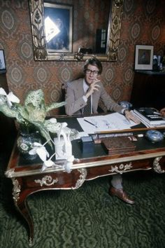 YSL, as photographed by Robert Alan Clayton in 1975