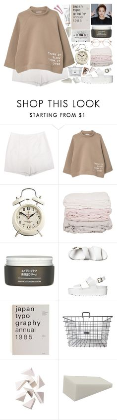 """Oh someone like you, 어디 있나요..."" by exoaeri ❤ liked on Polyvore featuring Diane Von Furstenberg, MANGO, Muji, Windsor Smith and Bobbi Brown Cosmetics"