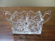 Lead Crystal Handled Toothpick/ Match Holder - $4.99