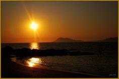 Posta de sol desde Baroña by J.A.Sanjurjo, via Flickr