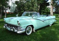 56 ford sunliner convertible