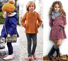 Стильная детская одежда фото, модные тенденции 2018 для детей