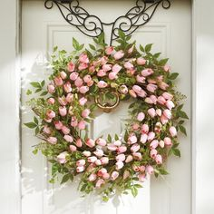SORRY, CURRENTLY OUT OF STOCKBe first to discover the next great find. Click here to view all of our faux greenery.    Put a fresh new face on your home with the look of professionally designed foliage that never needs watering, with our Tulip Wreath.            Wreath is an abundance of lifelike pink tulips, perfect for adorning a door or window                For covered outdoor or indoor use
