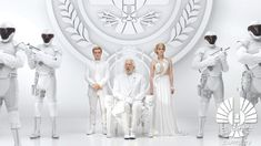 The second teaser for The Hunger Games: Mockingjay — Part 1 , released on Wednesday, is another speech from President Snow (Donald Sutherland) to the citizens of Panem. the mockingjay now LIVES! The Hunger Games, Hunger Games Mockingjay, Hunger Games Catching Fire, Hunger Games Trilogy, Katniss Everdeen, Katniss And Peeta, Presidente Snow, This Is A Book, The Book