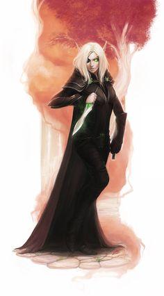 Valeira by exellero on deviantART #elf #rogue