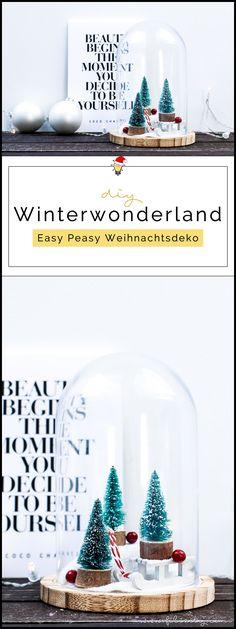 DIY Weihnachtsdeko 'Winterwonderland im Glas'   Filizity.com   DIY-Blog aus dem Rheinland #weihnachten #winter #deko #ohtannenbaum