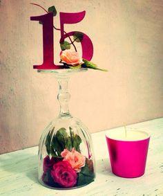 más y más manualidades: 15 ideas de centros de mesa para XV años