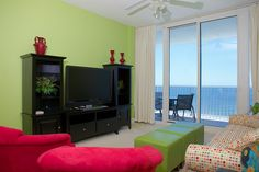 Lighthouse 1207--Creative styled room.  http://www.paradisegulfproperties.com/