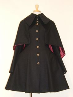 Camelot Wool Mini Coat (Lady's) by Atelier Boz