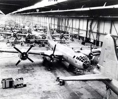 Boeing B-29 Assembly Line during World War II
