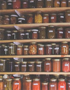 Colorful canning