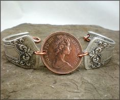 spoon bracelet.. i love this..mabey with a lucky penny.