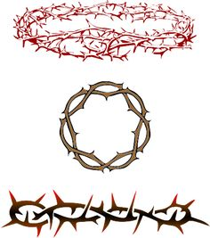 Christianity Symbols Illustrated Glossary: Crown of Thorns