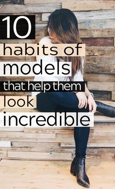 These beauty habits of models contain some great beauty tips on how to be pretty naturally! I'm glad I checked out these beauty hacks, now I can improve my skincare routine! Beauty Care, Beauty Skin, Health And Beauty, Diy Beauty, Beauty Ideas, Face Beauty, Beauty Advice, Beauty Stuff, Daily Beauty Routine
