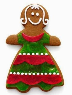 Count down to Christmas: 12 Days of Cookies Best-Dressed Gingerbread! I love gingerbread-Why not have a gingerbread decorating party.... www.teelieturner.com Teelie Turner Shopping Network - Google+