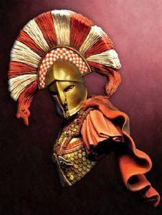 Spartan Warrior Bust