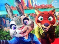 Zootopia Premiere At El Capitan Brings Judy & Nick To Life