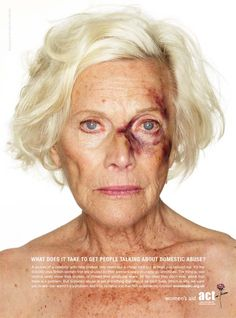 Domestic Abuse Awareness. any age.