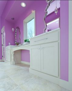 Absolutly love love love this color I Heart My Room | How-To Decorate a Teen Bathroom