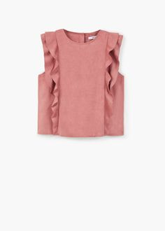 Blouse Home Decor primitive home decor Fashion Kids, Diy Fashion, Fashion Outfits, Fashion Design, Fall Outfits, Casual Outfits, Diy Kleidung, Mode Top, Ruffle Top