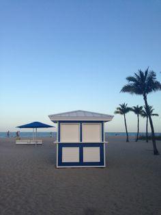 Sheraton Fort Lauderdale Beach Hotel in Fort Lauderdale, FL. Custom design/build beach hut equipment by CustomBeachHuts.com