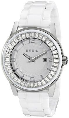 Breil Milano Women's TW1155 Orchestra Analog Display Japanese Quartz White Watch -