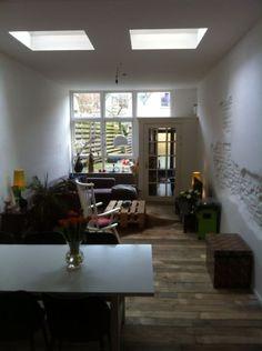 Sloophouten vloer by studio Fien www.studiofien.nl