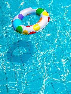 A dip in the pool is all fun and games, until some strands get hurt. To keep hair healthy and happy, rinse with cool water prior to your swim and spray a leave-in treatment.