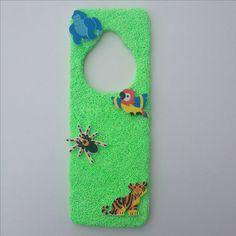 Foam Clay deurhanger Jungle
