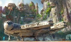 Star Wars Land Concept Art #9 Disney's Hollywood Studios Top 10 Parcs à Thème
