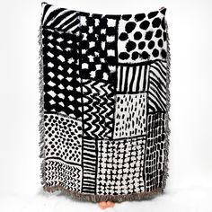 Slowdown Studio is a partnership founded by two friends living on different continents who came together to launch a collection of playful blankets.