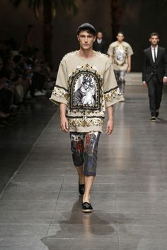 Dolce&Gabbana Summer 2016 Men's Fashion Show. www.dolcegabbana.com