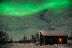 Näkkälä Outdoor Hut, Enontekiö, Finnland by Jan T